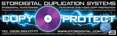 Copy Prtection DVD duplicator