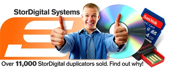 Over 11000 StorDigital Duplicators Sold