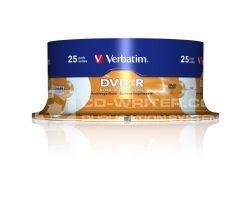 Verbatim DVD R 8x Archival Print 25pk