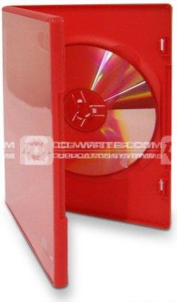 red dvd cases packed in 100 s unbranded dvdrd 100 uk retailer cd