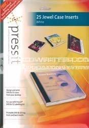 pressit jewel case inserts white press it plk01109 uk retailer