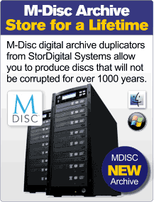 M-Disc Archive Duplicator