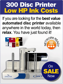 High Capacity Automated Disc Printer