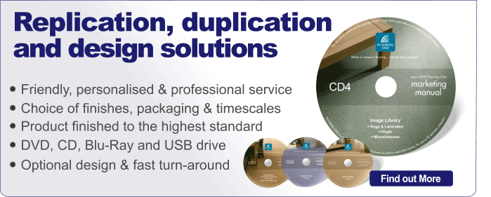 Duplication and Replication services from CD-writer.com