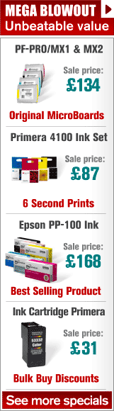 Discounts on Disc Printer Inks