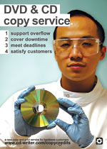 Copy Credits - never let your customers down again.
