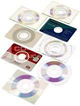Blank Business Card CDs