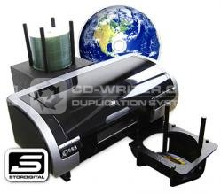 What are the different kinds of CD printer