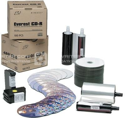 What CD DVD Disc Printer Supplies are available